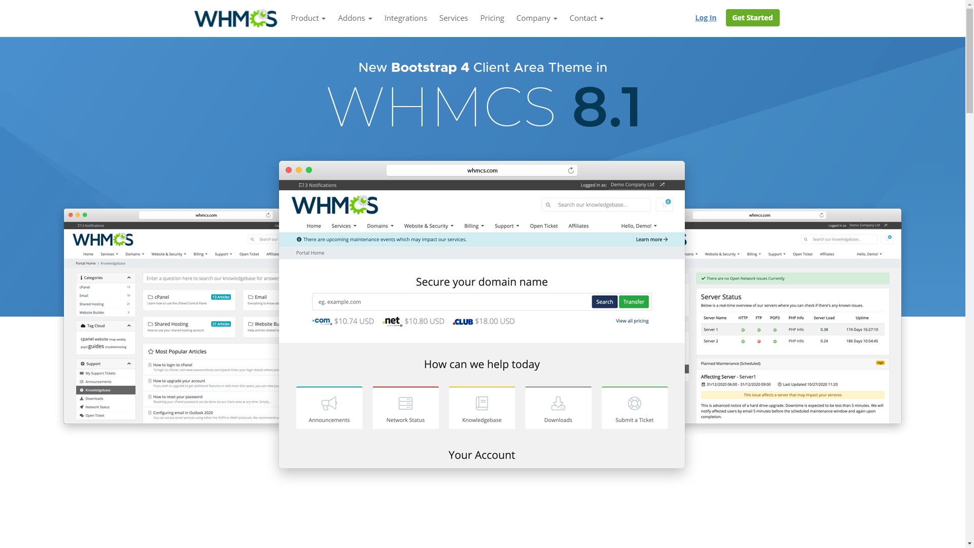 What's new in WHMCS 8.1